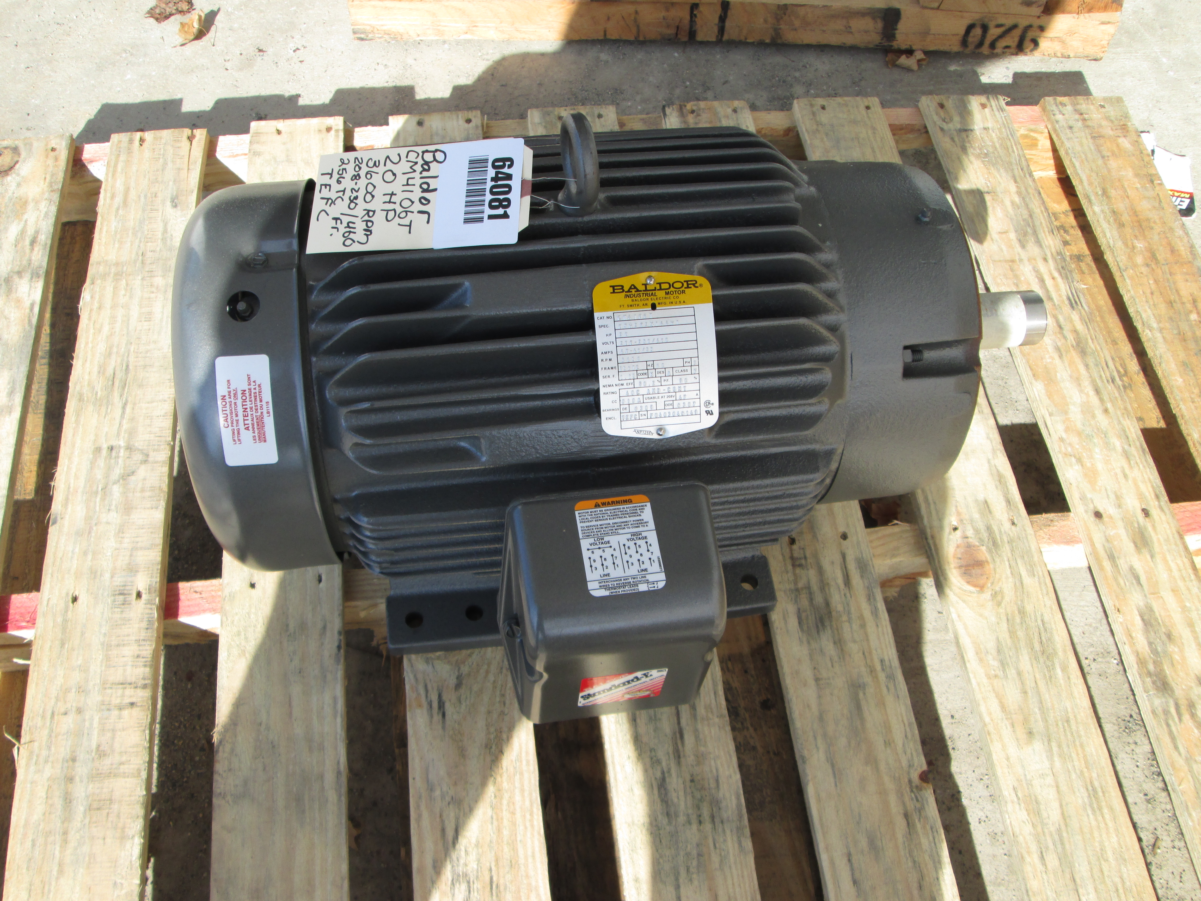 Lce Electric Motor Sales And Repair Baldor High Voltage Low Wiring